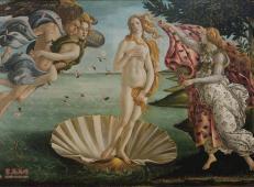 波提切利《维纳斯的诞生》高清图片赏析