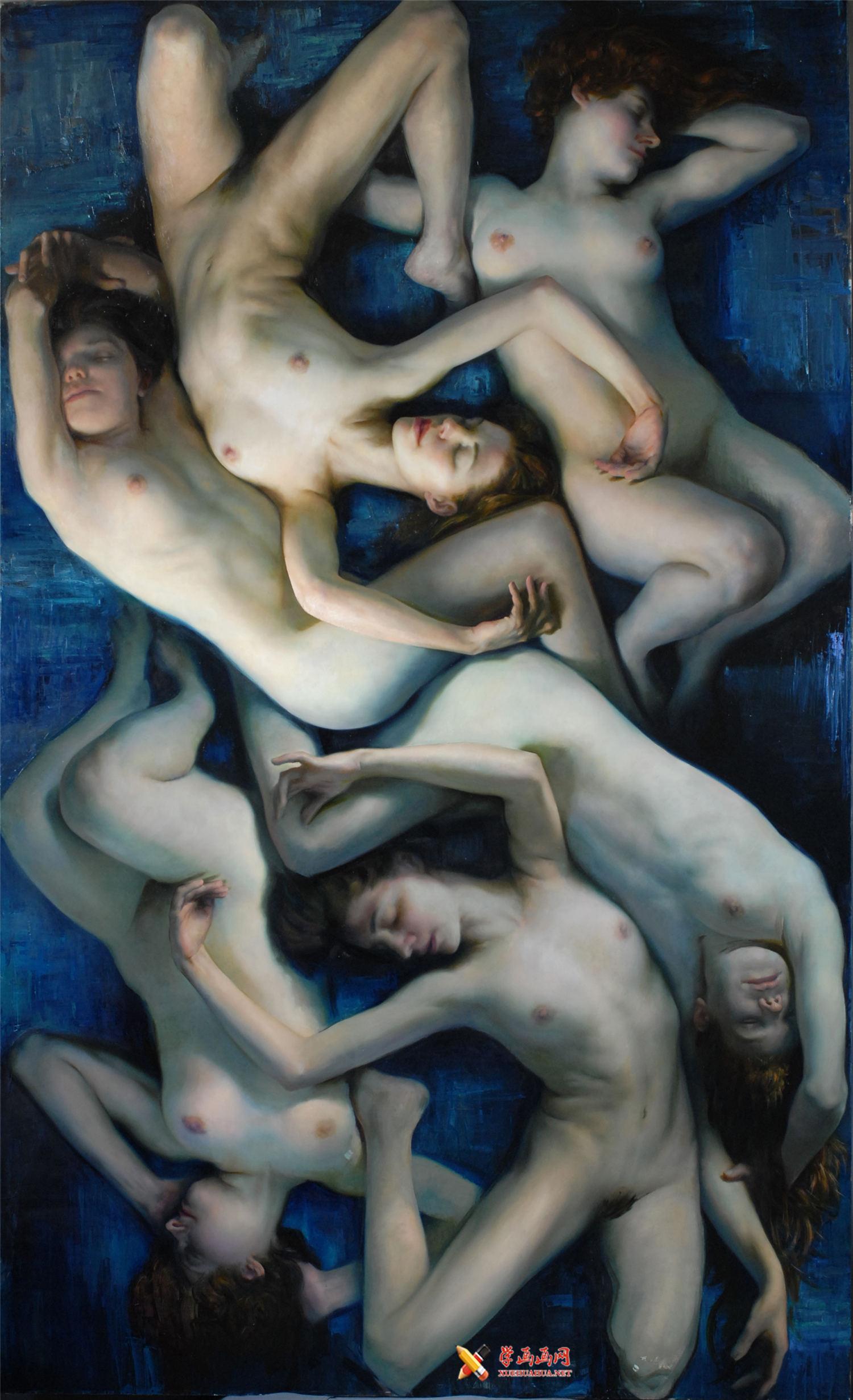 Christopher Pugliese人体油画欣赏(1)