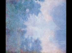 薄雾时塞纳河上的早晨 莫奈.jpg