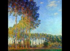 从沼泽地观望厄普特河岸边的白杨树 莫奈.jpg