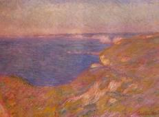 迪耶普附近的悬崖5 莫奈.jpg