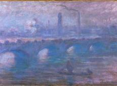 晨雾中的滑铁卢大桥 莫奈.jpg