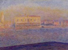 从威尼斯圣乔治教堂看公爵宫 莫奈.jpg