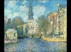 阿姆斯特丹南教堂 莫奈.jpg
