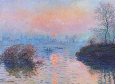 冬天穆瓦松塞纳河上的夕阳1 莫奈.jpg