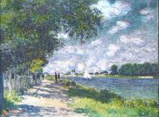 阿让特伊的塞纳河畔 莫奈.jpg