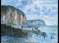 法国画家莫奈高清油画图片大全之三