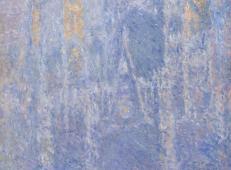 晨雾中的鲁昂大教堂 莫奈.jpg