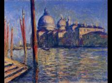 大运河和圣母玛利亚大教堂 莫奈.jpg