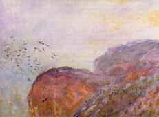 迪耶普附近的悬崖4 莫奈.jpg