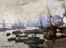 船在伦敦港 莫奈.jpg