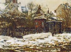 冬季韦特伊教堂 莫奈.jpg