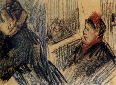 阳台上的两位女子 荷兰 梵高 油画.jpg