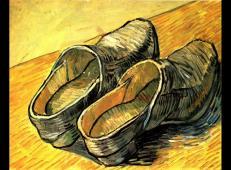 一双皮革木底鞋 荷兰 梵高 油画.jpg