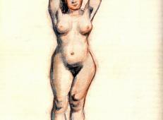 站着的裸女的正面 荷兰 梵高 油画.jpg