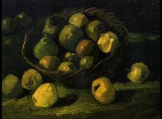 一篮子苹果1 荷兰 梵高 油画.jpg