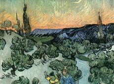 在月光下散步 荷兰 梵高 油画.jpg