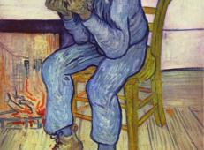 在椅子上 荷兰 梵高 油画.jpg