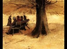 长凳和人 荷兰 梵高 油画.jpg