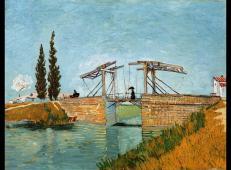 曳起桥与打伞女士 荷兰 梵高 油画 德国,华拉夫理查兹博物馆藏 1888.jpg