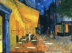 夜晚露天咖啡座 荷兰 梵高作品赏析 1888 布上油画纵81×横65.5厘米 奥特洛克洛勒-穆尔博物馆藏.jpg