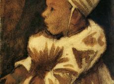 婴儿 荷兰 梵高 油画.jpg