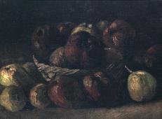 一篮子苹果 荷兰 梵高 油画.jpg