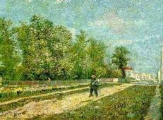 在巴黎郊区1 荷兰 梵高 油画 1887.jpg