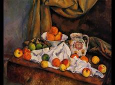 水果碗,水壶和水果 塞尚作品赏析.jpg