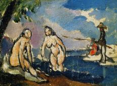 沐浴的女子和垂钓的男子 塞尚作品赏析.jpg