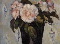 深蓝色的花瓶和鲜花 塞尚作品赏析.jpg