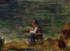 岩石上的渔夫 塞尚作品赏析.jpg