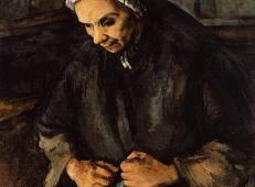 老妇人和玫瑰 塞尚作品赏析.jpg