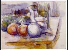 水瓶,糖碗,瓶子,石榴和西瓜 塞尚作品赏析.jpg