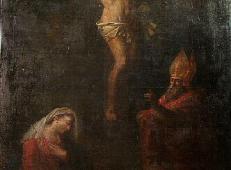 耶稣被钉十字架上 法国 安格尔.jpg