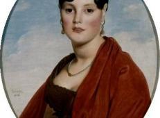 埃蒙夫人肖像,美丽的谎言 法国 安格尔.jpg