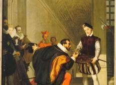 佩德罗托莱多亲吻亨利四世的宝剑 法国 安格尔.jpg