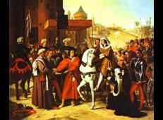 未来的查理五世到巴黎 法国 安格尔.jpg