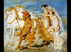 被迪奥梅德斯弄伤的维纳斯返回奥林匹斯 法国 安格尔.jpg