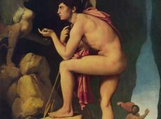 俄狄浦斯和狮身人面像 法国 安格尔.jpg