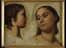 夫人和她的儿子 法国 安格尔.jpg