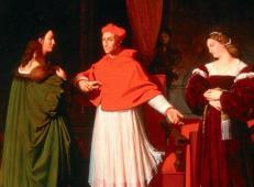 拉斐尔和红衣主教的侄女比比恩纳订婚 法国 安格尔.jpg