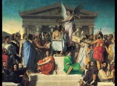 荷马神化 法国 安格尔.jpg