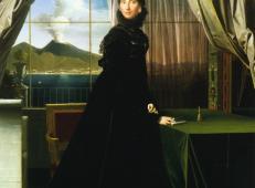 卡罗琳·缪拉,那不勒斯皇后 法国 安格尔.jpg