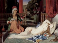 宫女与奴隶 法国 安格尔.jpg