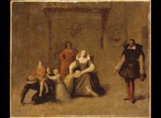 亨利四世陪他的孩子们玩耍 法国 安格尔.jpg