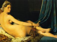 安格尔油画作品集一