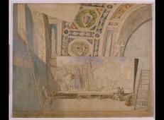 安格尔的画室,绘画《罗穆卢斯阿克罗胜利者》.jpg