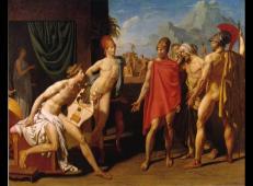 阿伽门农大使敦促阿喀琉斯战斗 法国 安格尔.jpg