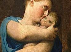 妇女和儿童,圣桑福里安殉难 法国 安格尔.jpg